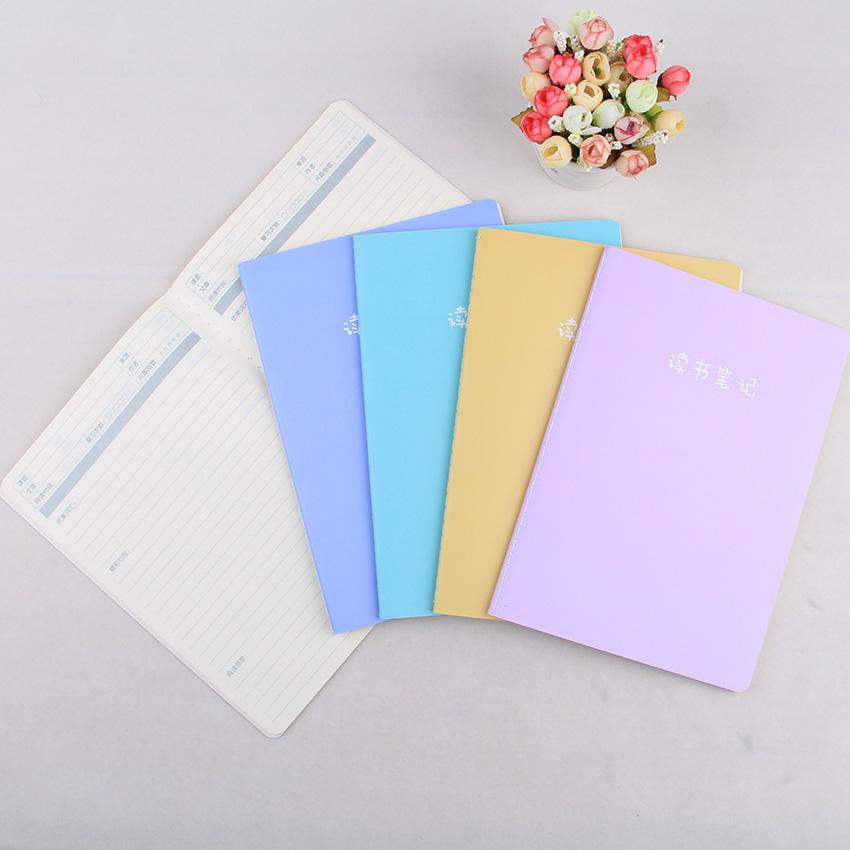 10本装精美读书笔记本子学生用